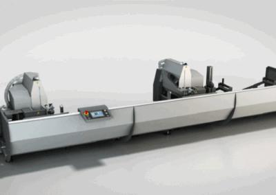 Tronzadora doble cabezal TDF 55P para Aluminio
