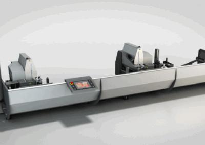 Tronzadora de doble cabezal TDF 55E de Rinaldi en Ventytec Soluciones S.L.