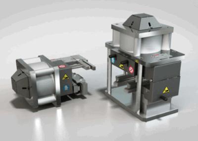 Punzonadora para Aluminio Vertical-Horizontal PNEUFOR 12