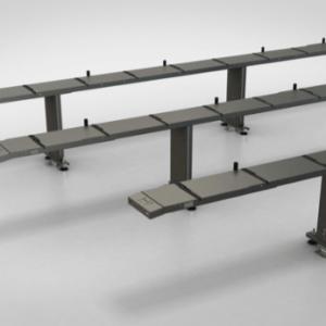 Camino de Rodillos para Aluminio