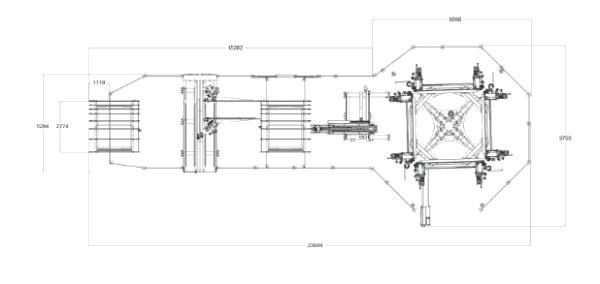 Linea de Soldadura y Limpieza 4x4 FA 1050 de Kaban en Ventytec